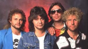Van Halen 1985  Michael Anthony, Eddie Van Halen, Alex Van Halen, Sammy Hagar   (Photo by Chris Walter/WireImage)