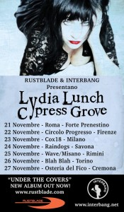 Lydia Lunch Cypress Grove